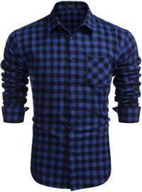 Men's Slim Fit Button Down Shirt