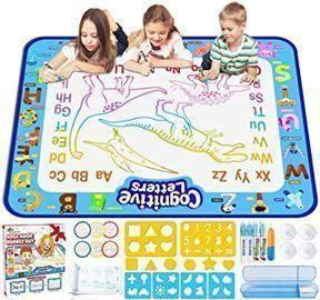 Jasonwell 40 X 32 Aqua Magic Doodle Mat