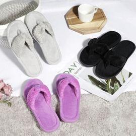 Memory Foam Cozy Slippers