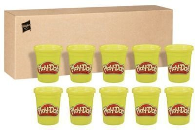 Play-Doh Bulk 12-Pack of Yellow Non-Toxic Modeling Compound