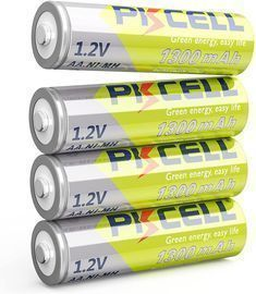 4 Packs AA Precharged Battery