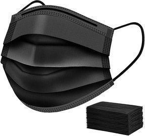 50 PCS Disposable Black Face Coverings