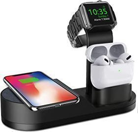 Deszon 3-in-1 Wireless Charger (Works with iWatch/AirPods/iPhones)