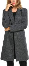 Long Pea Coat Jacket