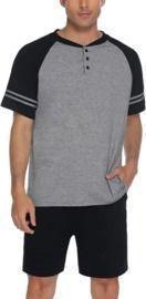 Men's Pajama Shorts Set