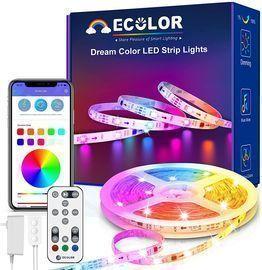 LED Rainbow Smart Music Bluetooth Strip light