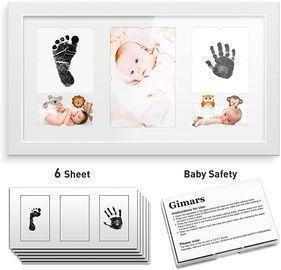 Baby Ink Pad Photo Frame Kit