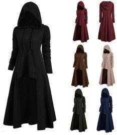 Vintage Cloak Hooded Robes/Costumes