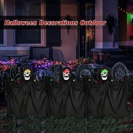 Set of 3 Ghost Halloween Decorations