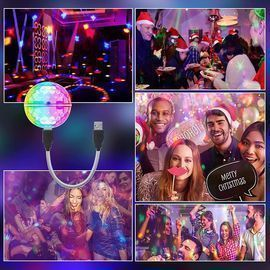 USB Mini Disco Lights for Parties