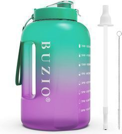 One Gallon Water Bottle with Motivational Time Marker