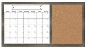 New View Calendar Dry Erase Board
