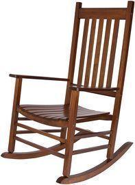 Shine Company Inc. Vermont Oak Rocking Chair