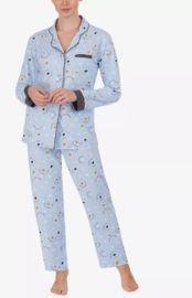Cuddl Duds Printed Pajamas Set