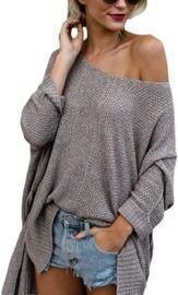 Beyove Women's Off Shoulder Pullover