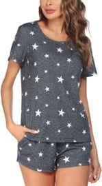 Star Print PJ Set