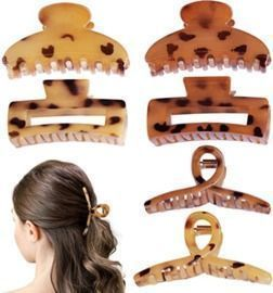6 Pack Hair Clips