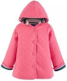 First Impressions Toddler Girls Striped Quilted Jacket