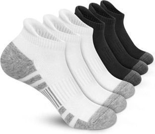 Athletic Running Ankle Socks - 6 Pairs