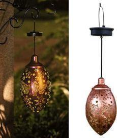 Outdoor Garden Hanging Solar Lantern