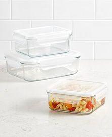 Martha Stewart Glass Food Storage Collection