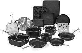 Granite Stone 20pc. Titanium Nonstick Cookware/Bakeware Set