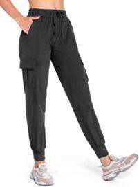 Women's Cargo Joggers Lightweight Hiking Pants