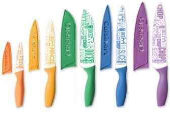 Cuisinart 10-Pc. Ceramic-Coated Printed Cutlery Set