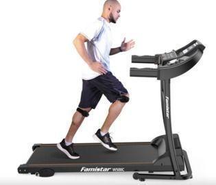 Treadmill + Knee Strap
