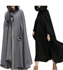 Gothic Hooded Trench Cloak Coat