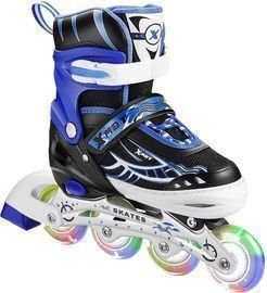 Inline Skates with All Light Up Wheels