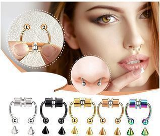 Magnetic Nose Rings