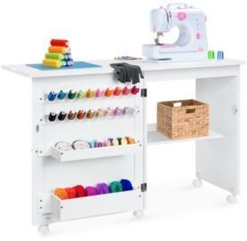 Folding Sewing Table & Craft Station