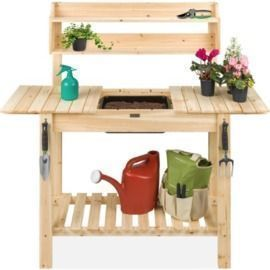 Wood Garden Potting Bench
