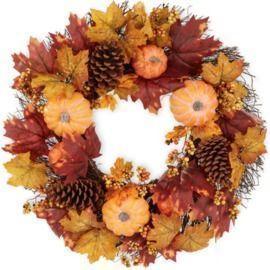 24 Artificial Fall Wreath