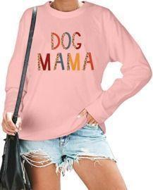 Women's Dog Mama Sweatshirt