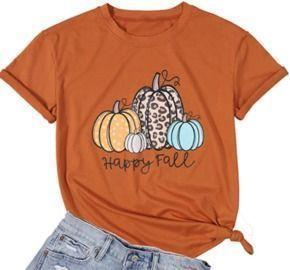 Women's Pumpkin Shirt