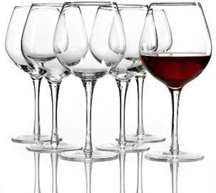 Lenox Tuscany Red Wine Glasses 6pc Set