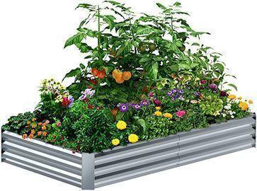 8'4'1' Galvanized Raised Garden Bed Kit