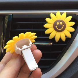 Sunflower Car Air Freshener Clip