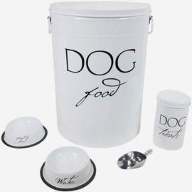 Pet Essentials - 5 Piece Dog Food Set