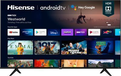 Hisense 70 A6G Series LED 4K UHD Smart Android TV