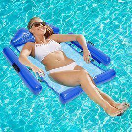 Inflatable Floating Pool Hammock