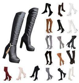 High Heel Above-The-Knee Boots