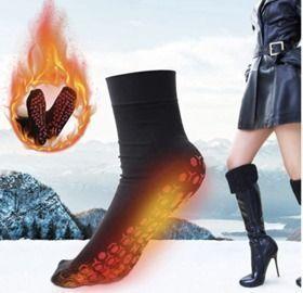 Self Heating Tourmaline Socks