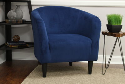 Mainstays Microfiber Tub Accent Chair (Various Colors)