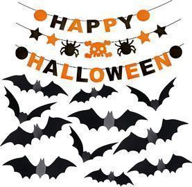 Happy Halloween Felt Banner Bunting