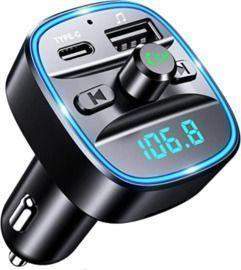 Sebigy Upgraded Bluetooth Car Adapter
