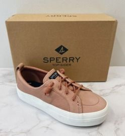 Sperry Women's Vulcanized Crest Vibe Platform Leather Shoes