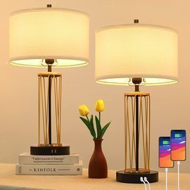 3-Way Dimmable Touch Control Table Lamps-2 Set